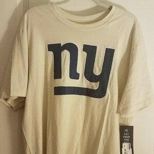 New York Giants '47 Brand T Shirt White Men's 2XL